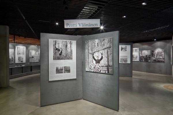 Metsäteknikko Pentti Väänäsen valokuvia Ilomantsin saloilta kuva 1-Timo Kilpeläinen-Metsä josta itseni löysin